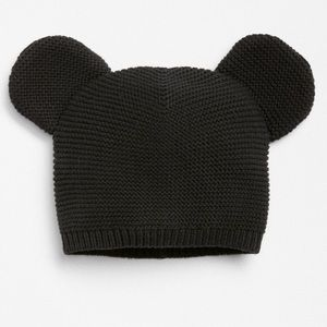 Baby Gap Disney Black Mickey Mouse Knit Hat